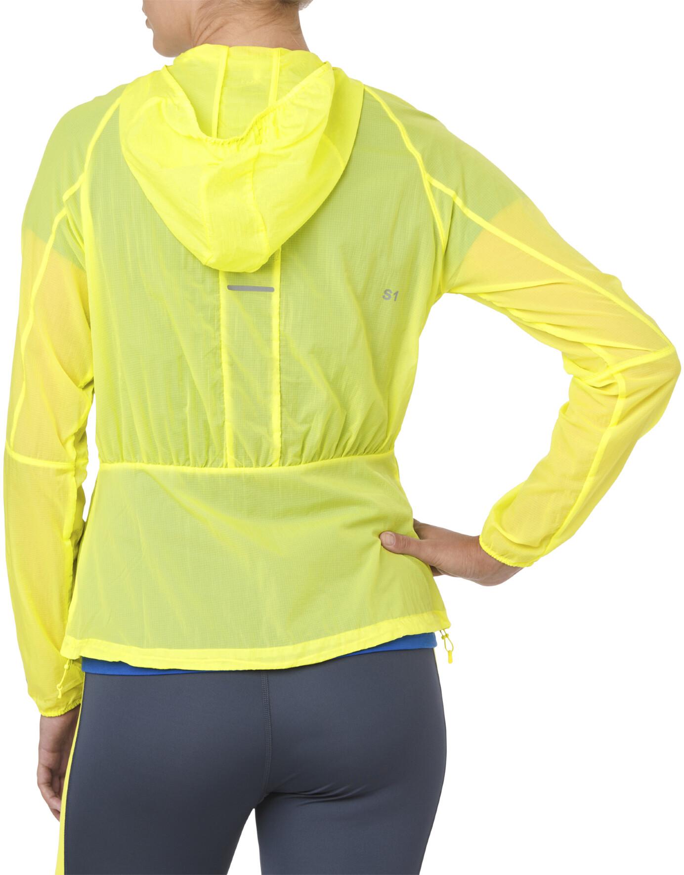 e9ba3b9d584 asics Packable - Chaqueta Running Mujer - amarillo